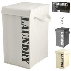 Porta Biancheria Laundry Rettangolare 28x35xh50 Lavanderia Contenitori