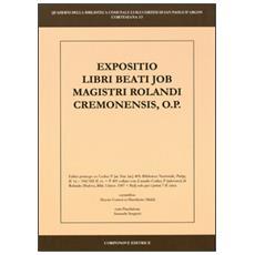 Summa Magistri Rolandi cremonensis, o. p. Liber primus