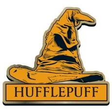 Harry Potter: Hufflepuff Sorting Hat (badge Smaltato)