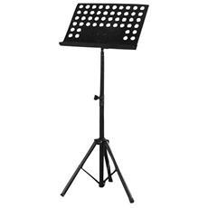 Treppiede per Nota Musicale Altezza Max 139.7 cm Nero PMS1