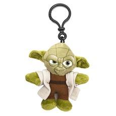 Star Wars - Portachiavi Peluche Yoda 8 Cm