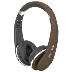 Cuffie Bluetooth Con Microfono Dj 1200 Bt Bronzo