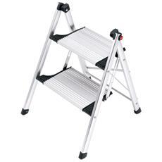 Scaletta 2 Gradini Livingstep Comfort Slim 68 Cm Alluminio 4322-001