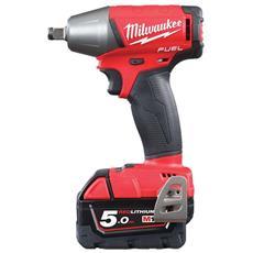 Fuel Chiave A Impulsi M18 Fiwf12-502x - 2 Batterie 18v 5.0ah - 1 Caricatore M12-18fc 4933451071