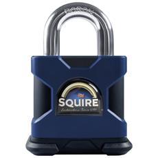 Lucchetto Ad Alta Sicurezza 50 Mm Squire Ss50s