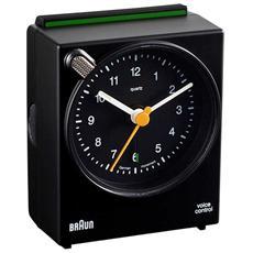 Orologio Sveglia al Quarzo Colore Nero - Modello BNC 004