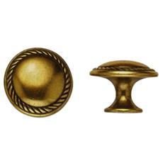 Pomolo per Mobili Oro Valenza 24223Z Metal Style misura 25 mm