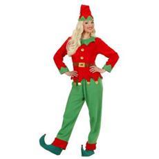 Elfo Donna Aiutante Di Babbo Natale (s)