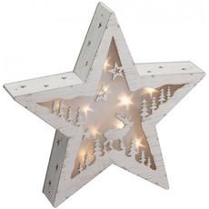 Stella di Natale a LED Classic 3D Diametro 30 cm Colore Bianco