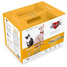 Sterilised - Multipack Rikarica Kg 2 (4 Confezioni Da 500 G) Gatti Adulti