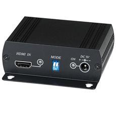 Convertitore E Scaler, Converte Da Hdmi A Dvi-d Con Audio Stereo L / r Analogico E Digitale.