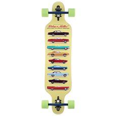 """Longboard Collection 38"""""""" S01lb0044 Skateboard Tipo Longboard Completo - Componenti Di Alta Qualità"""