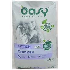 Cibo per gatti Kitten Chicken 1,5 Kg