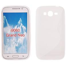 Cover S-Line in silicone Bianco per Samsung Galaxy Grand Neo Plus