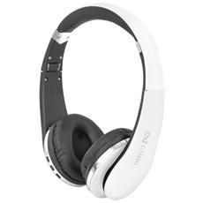 Cuffie Bluetooth Con Microfono Dj 1200 Bt Bianco