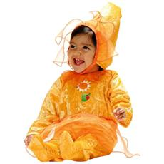 156557 Costume Carnevale Travestimento Girasole Bambina Da 3 A 12 Mesi