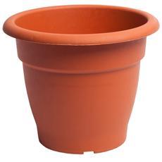 Vaso In Plastica 26cm Terracotta