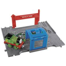 Take N Play Thomas And Friends Portable Set With Percy Engine