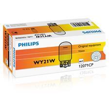 Sentiti al sicuro, guida con sicurezza. Lampade di segnalazione Philips. WY21W, 21 W, 12 V.
