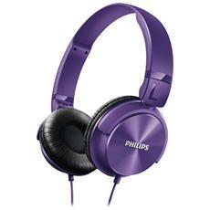 Cuffie Dj Style Shl3060pp Purple