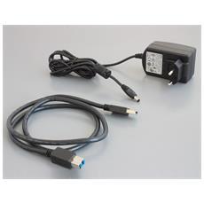 87568, Cavo, USB A, USB B, 10, 100, 1000 Mbit / s, Nero, Bianco, USB, 1.6 GHz, 30GB HDD
