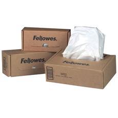Sacchetti per distruggidocumenti Fellowes - 53-75l confezione da 50