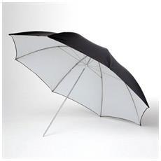 """Ombrello riflettente bianco / nero 101cm 40"""""""