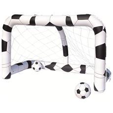 Porta Calcio Gonfiabile con 2 Palloni