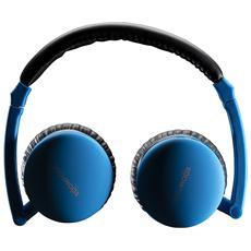 Cuffie Apblu Bluetooth Colore Blu