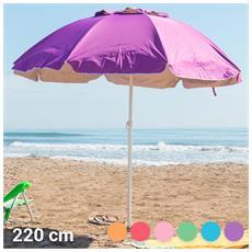Ombrellone Summer's Colour (220 Cm) Rosa
