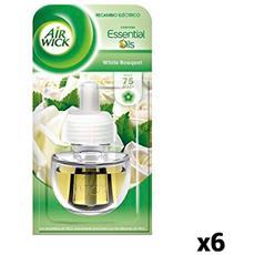 Ricariche Per Diffusore Elettrico Air Wick White Bouquet (pacco Da 6)