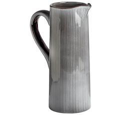 Brocca Decorativa In Ceramica (taglia Unica) (grigio)