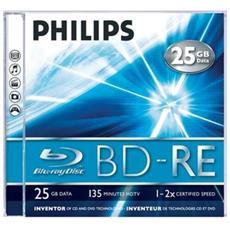 Qualità e capacità 5 volte superiore rispetto ai DVD 25 GB o 135 minuti di memorizzazione video HD