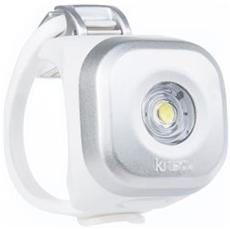 Luce Anteriore a LED Bianco per Bici Colore Argento
