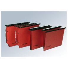 confezione da 25 pezzi - cartella sospesa cassetto 39 / v cartesio plus bertesi
