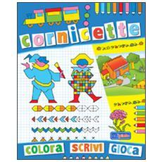 Cornicette blu. Ediz. illustrata
