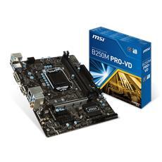 MSI - Scheda Madre B250M PRO-VD Socket LGA 1151 Chipset...
