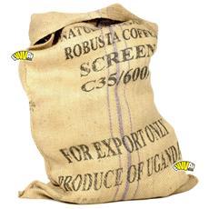 50 Kg - Sacco Tela Di Juta Agricolo Ricondizionato Iuta Per Raccolta Olive
