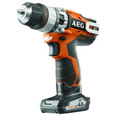 Hammer Drill Aeg 12v Li-ion - Batteria 2.0ah 1-01 Gennaio Caricabatterie 4. ah - Bsb 12c2 Li-x02b