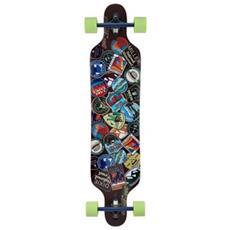 """Longboard National Park 41"""""""" S01lb0049 Skateboard Tipo Longboard Completo - Componenti Di Alta Qualità"""
