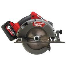 Sega Circolare Milwaukee Fuel M18 Ccs66-902x - 2 Batterie 18v 9,0 Ah - 1 Caricabatterie M12-18fc 4933459221