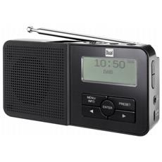 DAB Pocket Radio 5 Portatile Analogico e digitale Nero radio
