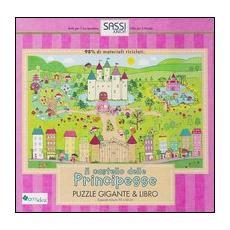 Il castello delle principesse. Puzzle gigante. Con libro