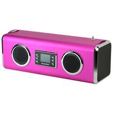 Speaker Audio Gigante MusicMan Potenza Totale 14W Bluetooth Colore Roso