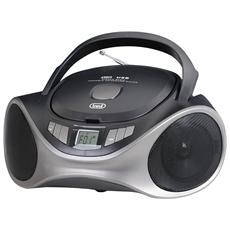 Stereo Portatile Boombox Cd Mp3 Usb Aux-in Cmp 531 Usb Nero