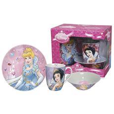 Confezione 3 Pezzi Prima Colazione Disney Princess Prima Colazione