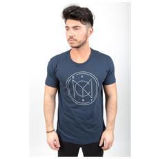 T-shirt Uomo Bollo Blu Xl