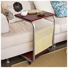 Portatile Laptop Con Ruote, supporto Tavolino, tavolino Da Divano, fbt21-br