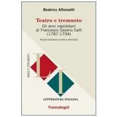 Teatro e tremuoto. Gli anni napoletani di Francesco Saverio Salfi (1784-1794)
