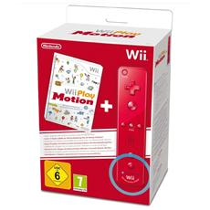 WII - Wii Play Motion + Wii Remote Controller Plus Rosso